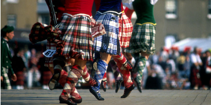 The Highland games: Authentic reading